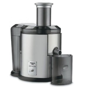 Waring JEX450 32 Oz Pulp Ejection Juice Extrator - Brushed Stainless and Black