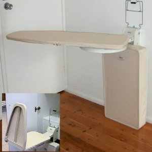 Better Lifestyle OSUV-01 Wall- Mounted Vertical Ironing Board Center