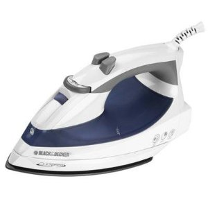 Black & Decker F975 Light 'N Easy Iron, Blue