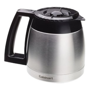 Cuisinart DCC-600RC 10 Cup Stainless Thermal Carafe for use with DGB-600BC coffeemaker