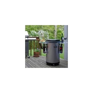 Soleus Air MC-88M Indoor/Outdoor Party Refrigerator, Silver