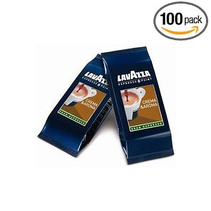Lavazza Italian Crema & Aroma Espresso Point Pods (100 ct)