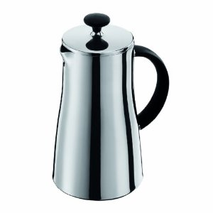 Bodum Arabica Thermal Stainless Steel 8 Cup Coffee Press, 34-Ounce