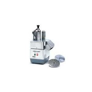 Commercial Food Processor, Metal Cont. Attach, Attached Food Pusher & 2 Plates