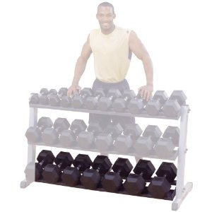 Body Solid GDRT60 Optional 3rd Tier for GDR60 Dumbbell Rack