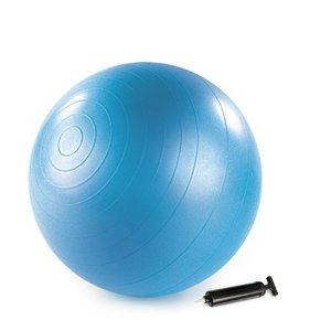 Stott Pilates Stability Ball Plus With Pump (Blue, 55cm)