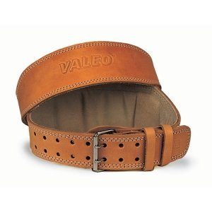 6 inch Tan Color Leather Lifting Belt
