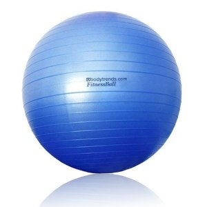 Bodytrends Anti-Burst Exercise Body Ball (50/55 cm) and Faster Blaster Pump