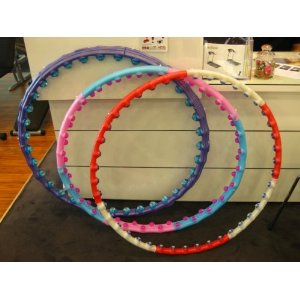 Magic Hula Hoops - 3 Lb Massage Ball Hula Hoop