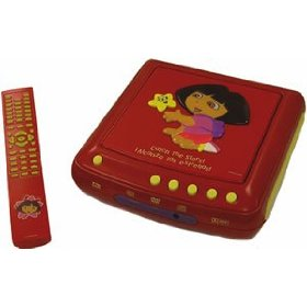 Emerson Dora the Explorer DVD Player DTE329