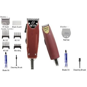 Oster Fast Feed Clipper & Finish Trimmer (Narrow Blade) Combo