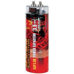 Boss CAP3.5R 3.5 Farad Capacitor (Red)