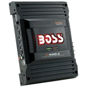 Boss Audio D400.2 Diablo 2-Channel Mosfet Bridgeable Power Amplifier