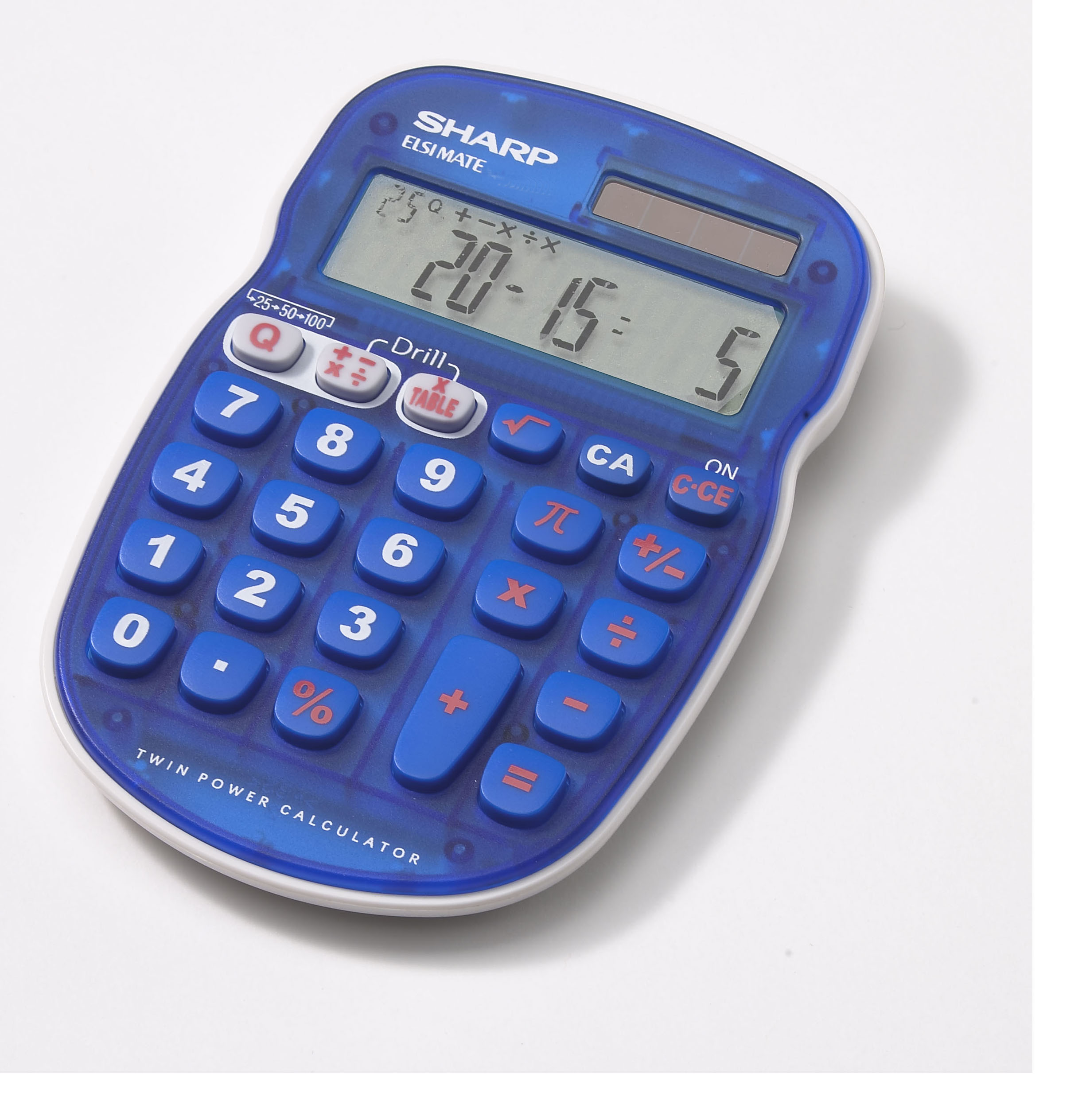 Sharp els25bbl kids quiz calculator