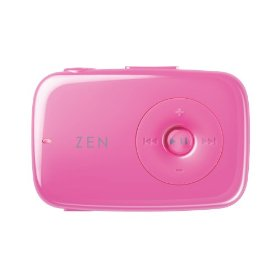 Creative Zen Stone 1 GB MP3 Player (Pink)