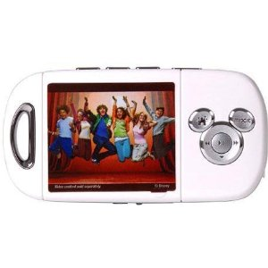 Digital Blue 664 Disney Mix Max Personal Tinkerbell Media Player (White)