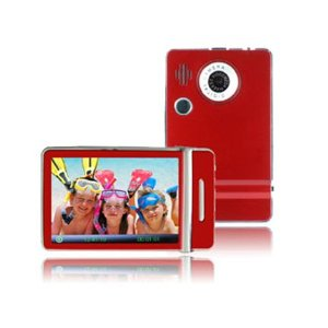 Ematic 8GB Video MP3 Player with 3inch QVGA Screen, Digital Camera and Video Recorder