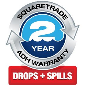 SquareTrade 2-Year MP3 Warranty Plus Accident Protection (MP3 Players 100-125)