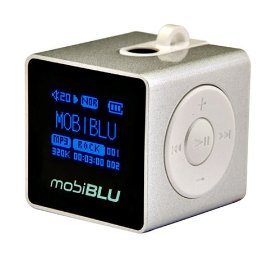 MobiBLU Cube DAH-1500i 1 GB Digital Audio Player Silver