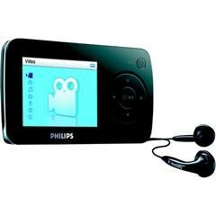 Philips SA60 2 GB Flash Video MP3 Player with FM Radio and 2.2-Inch Screen (Black)