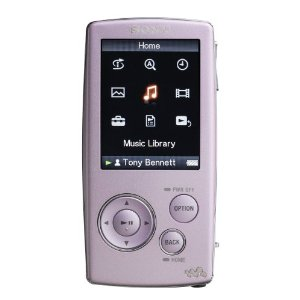Sony NWZ-A815PNK 2GB Walkman� Video MP3 Player (PINK)