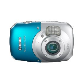Canon PowerShot D10 12.1 MP Waterproof Digital Camera with 3x Optical Image Stabilized Zoom and 2.5-inch LCD