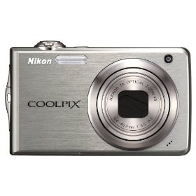 Nikon Coolpix S630 12MP Digital Camera with 7x Optical Vibration Reduction (VR) Zoom and 2.7 inch LCD (Titanium Silver)