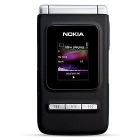Nokia N75 Unlocked Phone with 2 MP Camera, 3G, MP3/Video Player, and MicroSD Slot--U.S. Version with Warranty (Black)