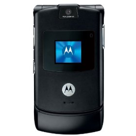 Motorola RAZR V3 Unlocked Phone with Camera and Video Player--International Version with Warranty (Black)