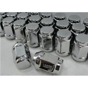 Chrome Bulge Acorn Lug Nuts 13/16