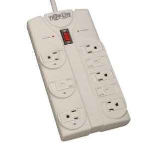 Tripp Lite TLP808 8-Outlet Surge Protector (1440 Joules, 8ft. Cord)