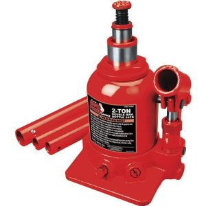 Torin Double Ram Bottle Jack - 2-Ton, Model# TF0202
