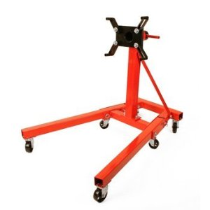 NEW Heavy Duty 2000 LB Folding Engine Stand Dolly Cart