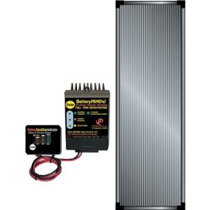 BatteryMINDer Solar Charging System - 12 Volt, 15 Watt Panel, Model# SCC-015