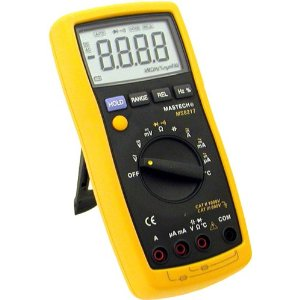 Mastech Auto-Range Digital Multimeter with Temperature Measurement, MS8217