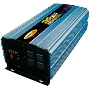 3500 WATT POWER INVERTERS - 12V DC to 110V AC - MODIFIED