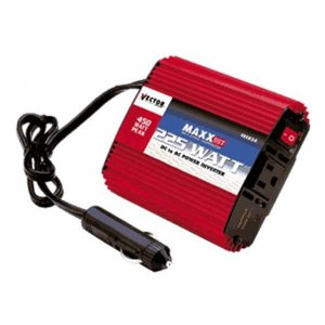Vector VEC034B 225 Watt D/C To A/C Power Inverter With Power Level Meter