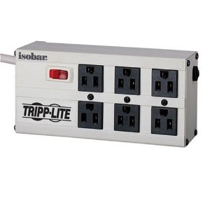Tripp Lite ISOBAR6 6-Outlet Isobar Premium Surge Protector (2350 Joules)