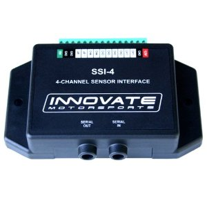 Innovate Motorsports 3783 SSI-4 Simple Sensor Interface Datalogger for RPM and 0-5 volt
