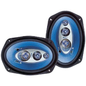 PYLE PL6984BL 6-Inchx 9-Inch 400 Watt Four-Way Speakers