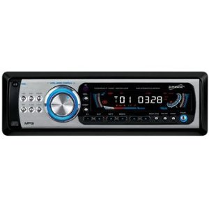 SuperSonic SC-1840M AM FM Stereo Fold Down Detachable Face CD Player