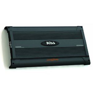 BOSS CW1000 CHAOS Wired 2000 Watts, 4-Channel MOSFET Power Amplifier with Subwoofer Level Control