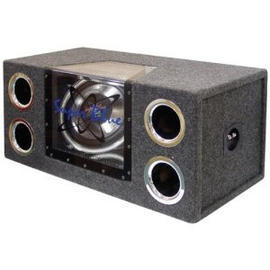 Pyramid BNPS122 12-Inch 1200-Watt Dual Bandpass System with Neon Accent Lighting