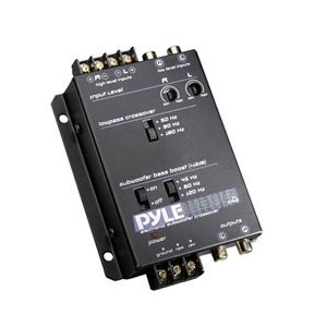 PYLE PLXR2 Electronic Subwoofer Crossover Network with12dB Bass Boost