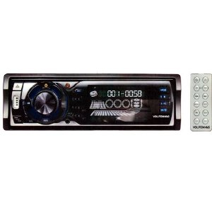 Volf/Hag ZX-7127 CD CDRW Player AM FM Digital Radio MP3 WMA USB Port SD Card Slot Flip Down Detachable Front Panel