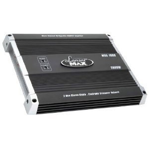 LANZAR MXA1600 2000 Watts Mono Block MOSFET Power Amplifier
