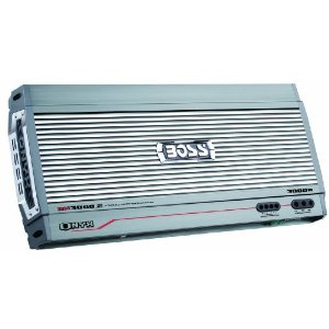 Boss NX3000.2 3000 Watt 2-Channel Mosfet Bridgeable Amplifier with Remote