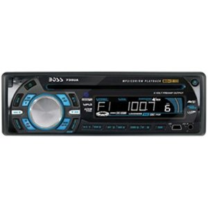 Boss Audio 735UA CD/MP3 Receiver with Detachable Front Panel
