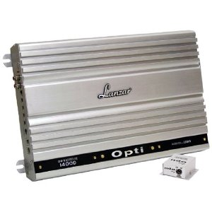 Lanzar OPTI1400D Optidrive 1300 Watt Mono Block Digital Competition Class Amplifier