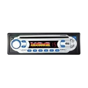 Legacy LCD30D AM/FM Analog Display Receiver Auto Loading CD Player with Detachable Face